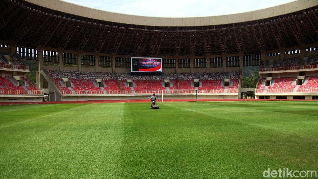 Melihat Kemegahan Stadion Papua Bangkit