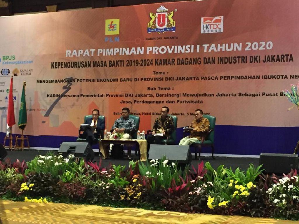 M Taufik Ajak Peserta Rapim Kadin Dukung Riza Patria sebagai Cawagub DKI