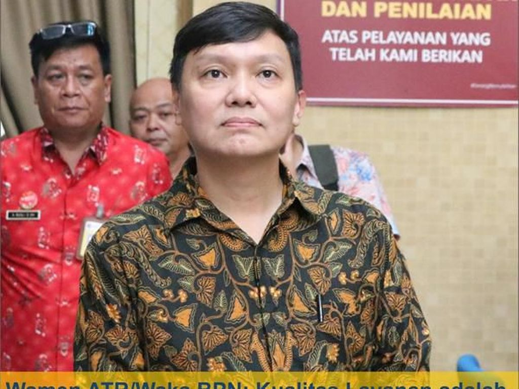 Ke BPN Bandung, Wamen ATR Ingin Selesaikan Kasus Tanah Tamansari