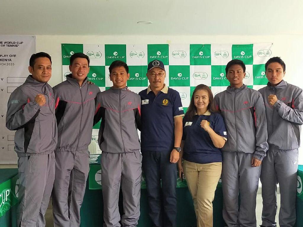 Christopher Rungkat Pede Curi Poin Pertama Davis Cup 2020