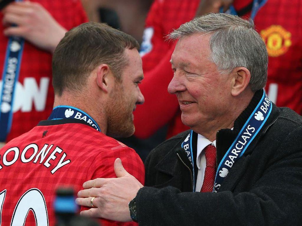 Kenang Omelan Sir Alex, Rooney: Kalau Nani Pasti Sudah Mewek