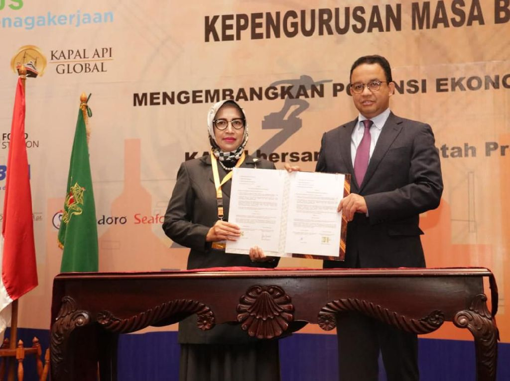 Rapimprov Kadin DKI Bahas Ekonomi Jakarta Usai Tak Jadi Ibu Kota