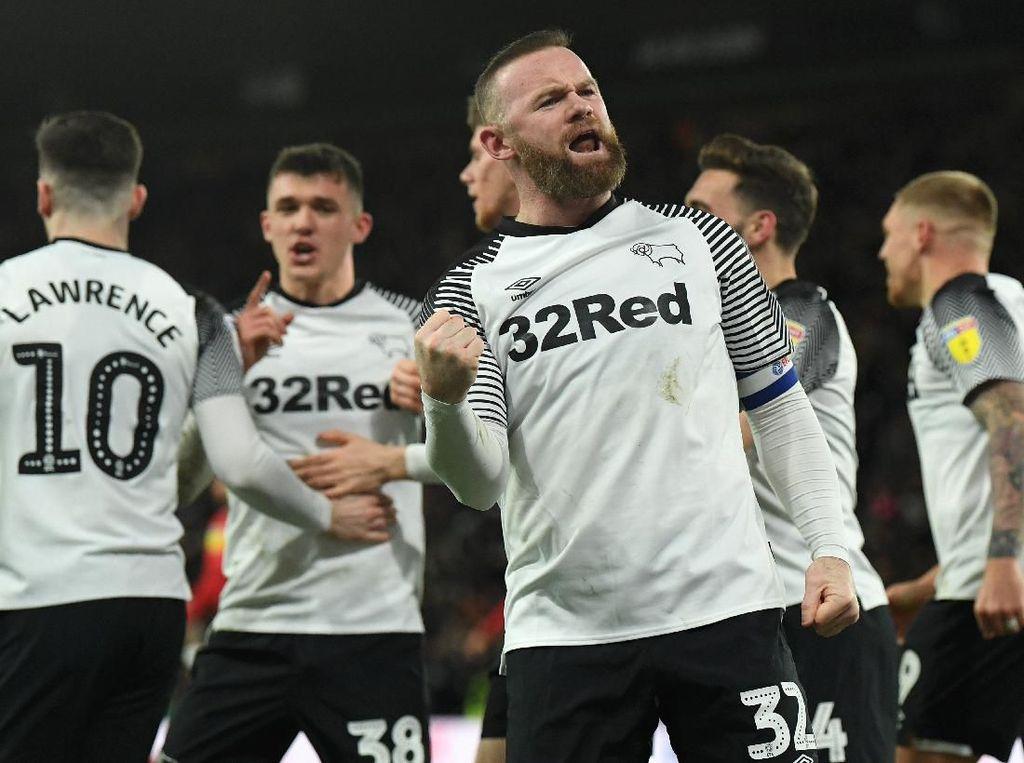Rooney Tak Sungkan Rayakan Gol Andai Bobol Gawang Man Utd