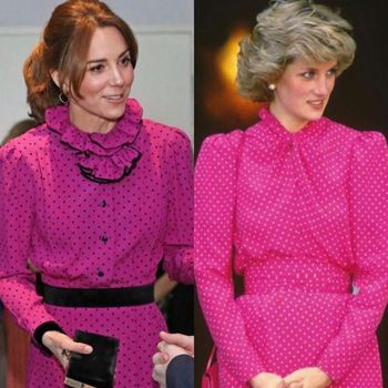 Gaun Magenta Kate Middleton Ingatkan Publik Pada Putria Diana