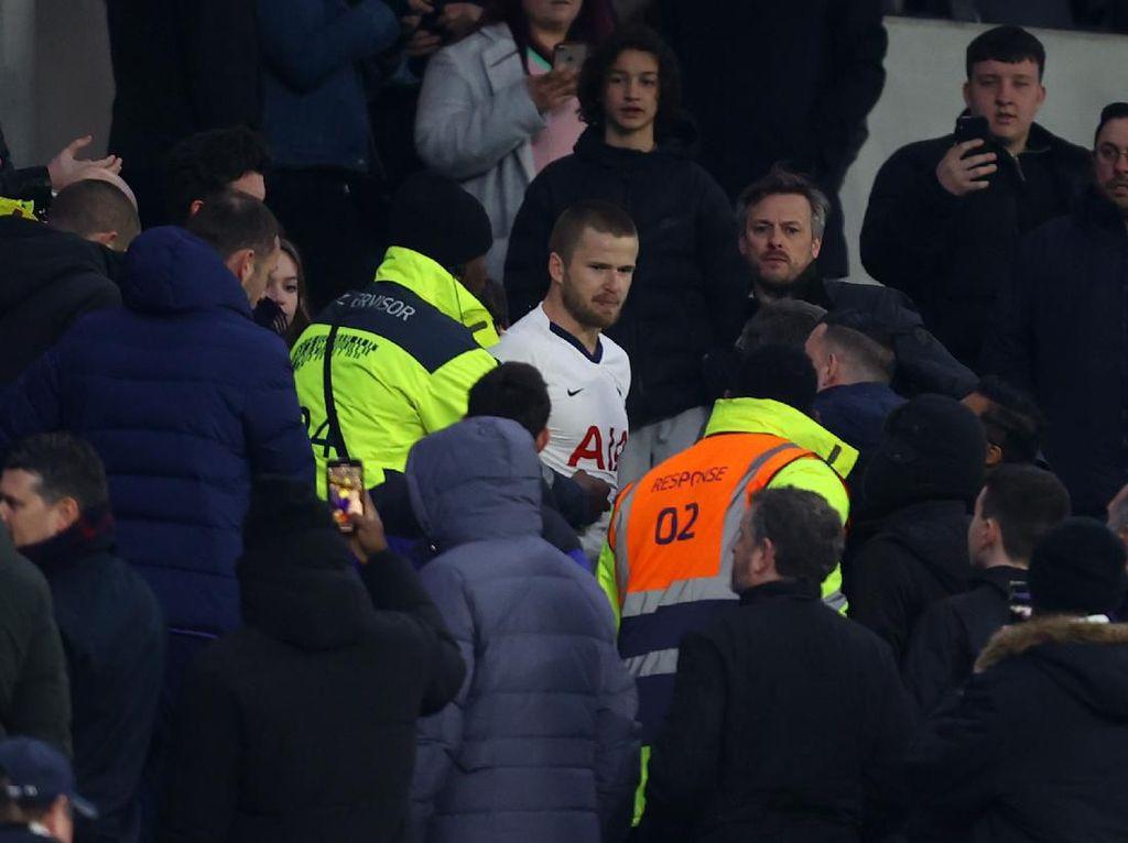 Video Eric Dier Ngamuk dan Ribut dengan Fans Usai Tottenham Keok