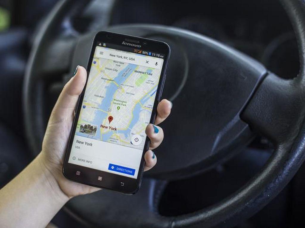 Fitur Baru Google Maps Bikin Berkendara Jadi Lebih Aman