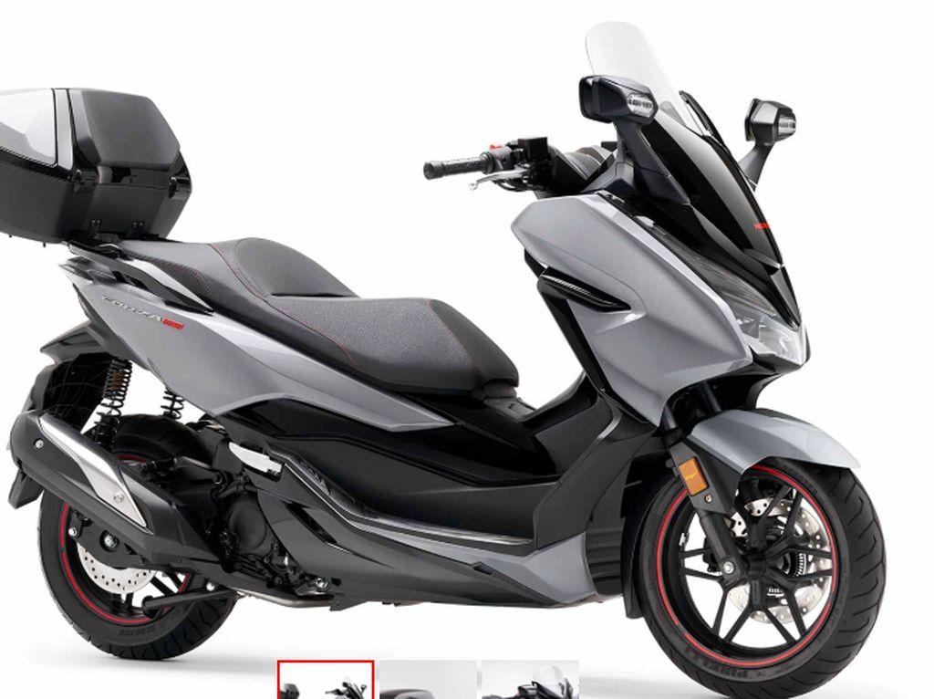 Bergaya Touring, Ini Tampang Honda Forza 300 Limited Edition