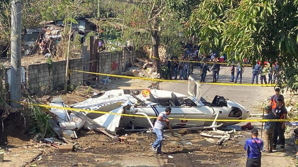 Helikopter Pembawa Kepala Kepolisian Filipina Jatuh