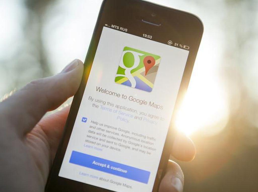 Google Maps Bantu Toko Update Soal Dampak Corona