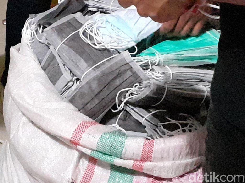 Waspada! Masker Daur Ulang Buatan Bandung Diedarkan di Jakarta