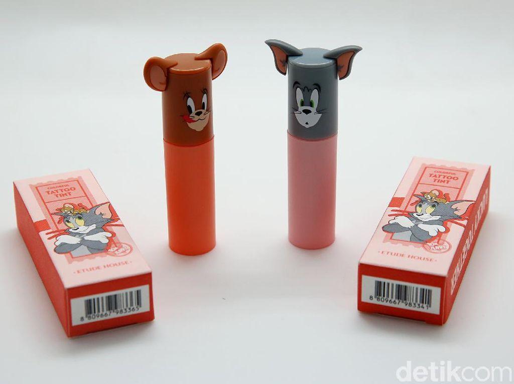 Review: Mencoba Lip Tattoo Tom and Jerry dari Etude House