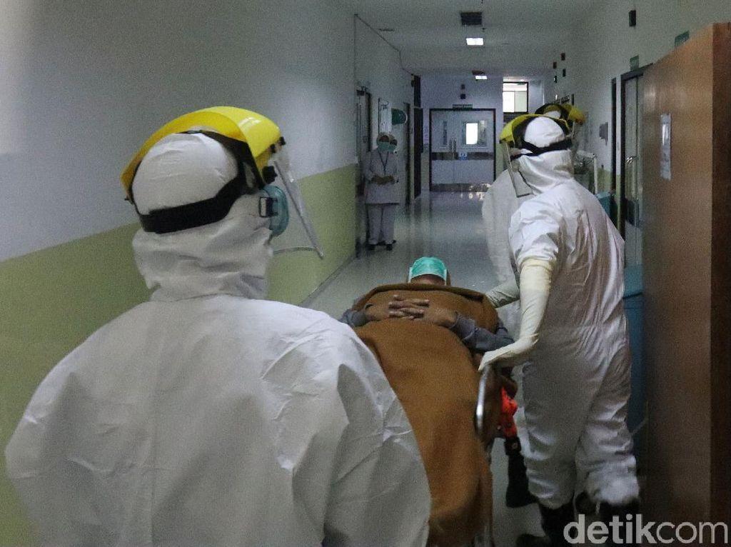 Data Okupansi RSUD DKI 14 September: ICU Tinggal 5 Kamar