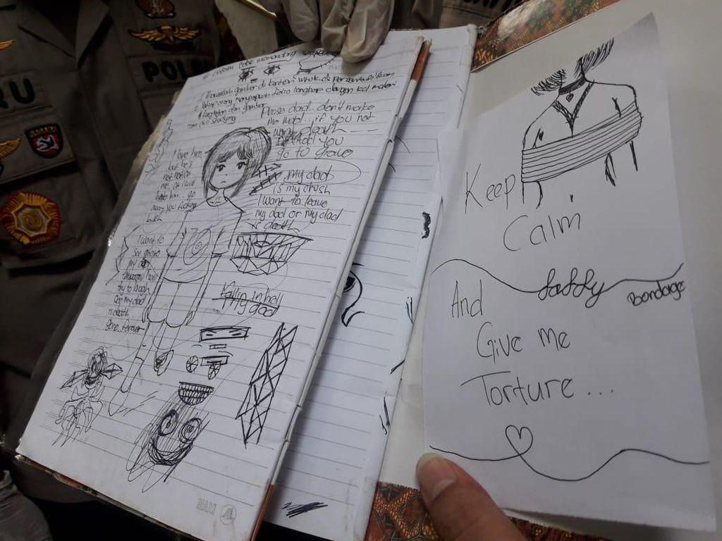 Misteri Sketsa Bondage di Pembunuhan Bocah oleh ABG Perempuan
