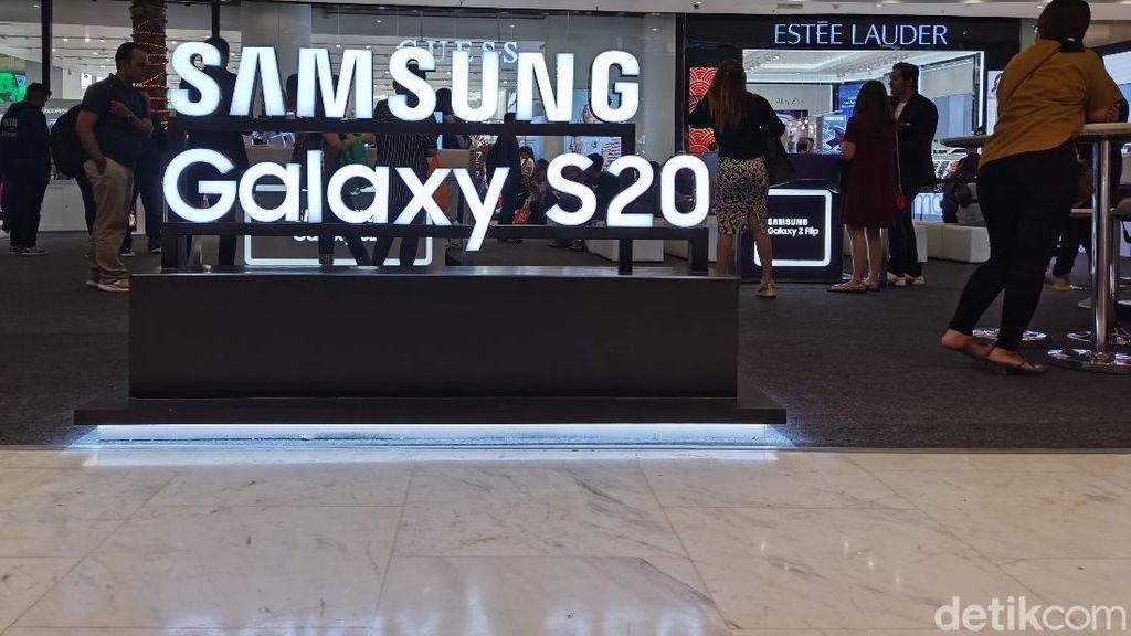 Suasana Consumer Launch Galaxy S20 Series