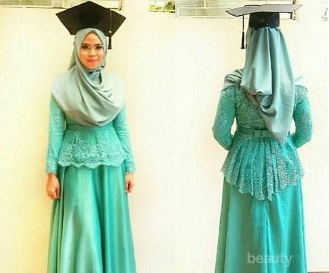 Tak Selalu Dililit Ke Leher Ini Dia Style Hijab Menutup Dada Untuk Kebaya Yang Bisa Kamu Coba