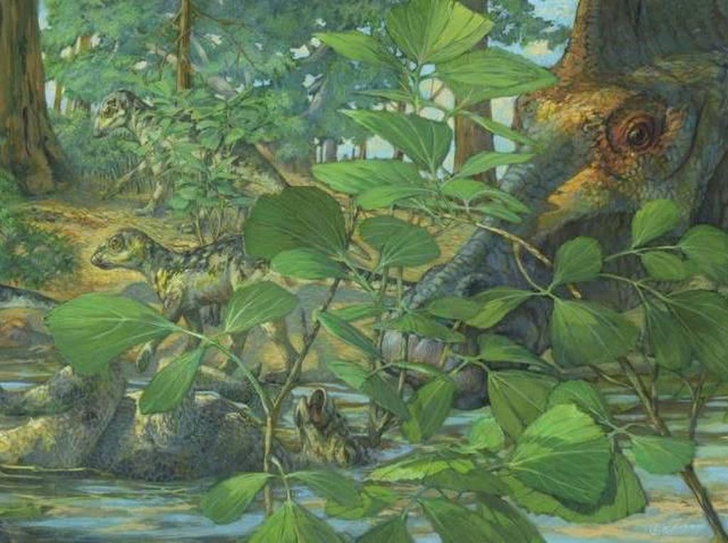 DNA Dinosaurus Ditemukan di Fosil Berusia 75 Juta Tahun