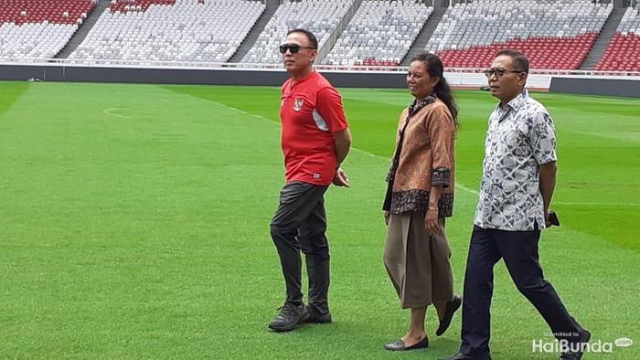 Iwan Bule tinjau Stadion GBK, jelang Piala Dunia U-20