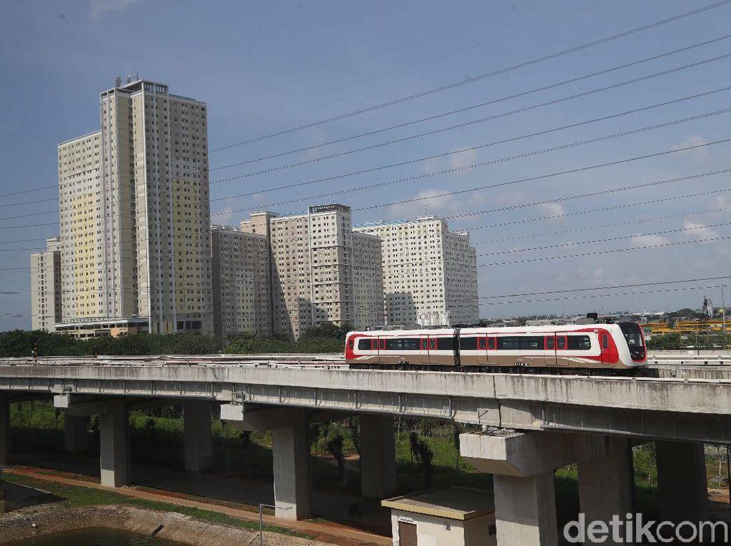 LRT Jakarta Batal Diteruskan ke Manggarai, Dibelokkan ke Cawang