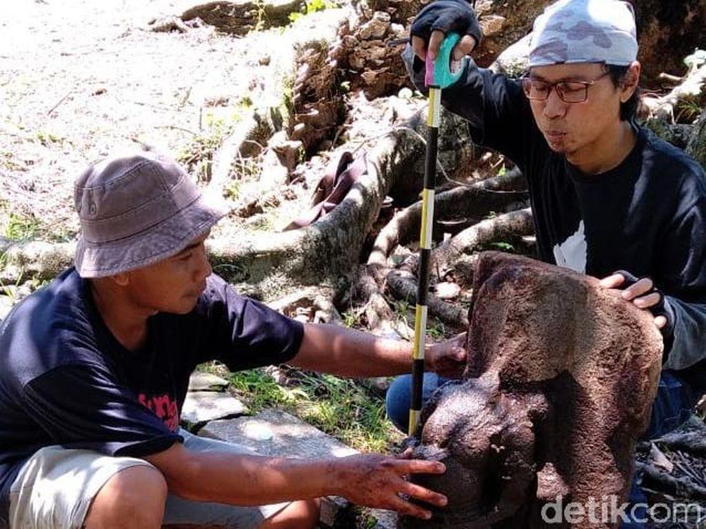 Arca Diduga Resi Agastya Ditemukan Terlilit Akar Pohon Beringin di Klaten