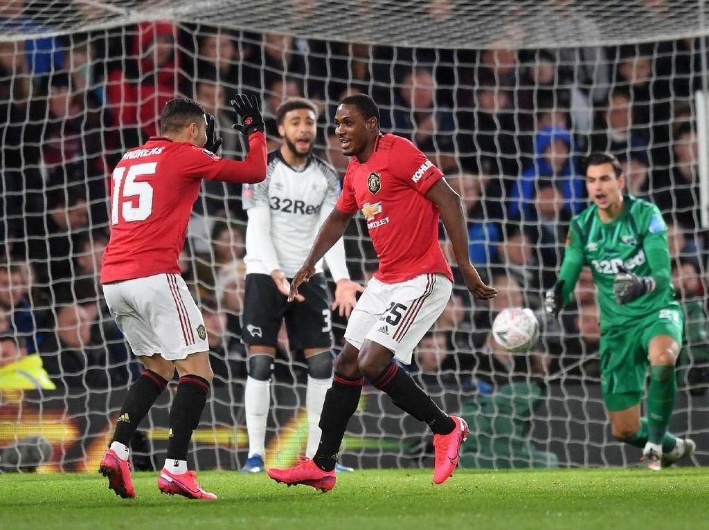 Cuplikan 3 Gol MU ke Gawang Derby County di Piala FA