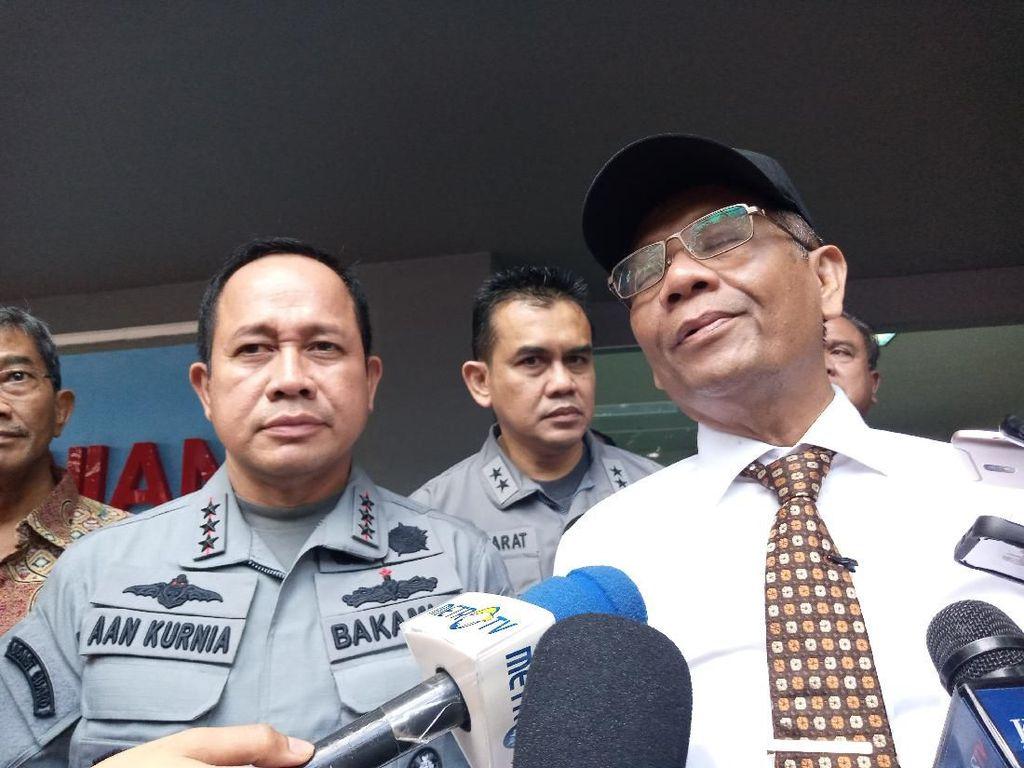 Mahfud Md: Lautan Indonesia Rumit dan Rawan Masuk Kapal Asing