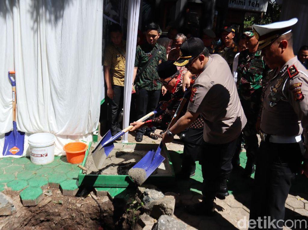 Kota Bandung Kini Punya Kampung Tertib Lalu Lintas