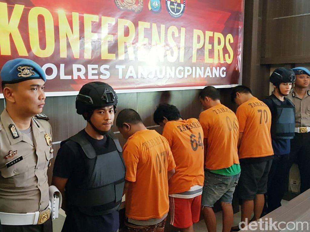 Sindikat Narkoba Jaringan Malaysia di Kepri Ditangkap, Sabu 6 Kg Disita
