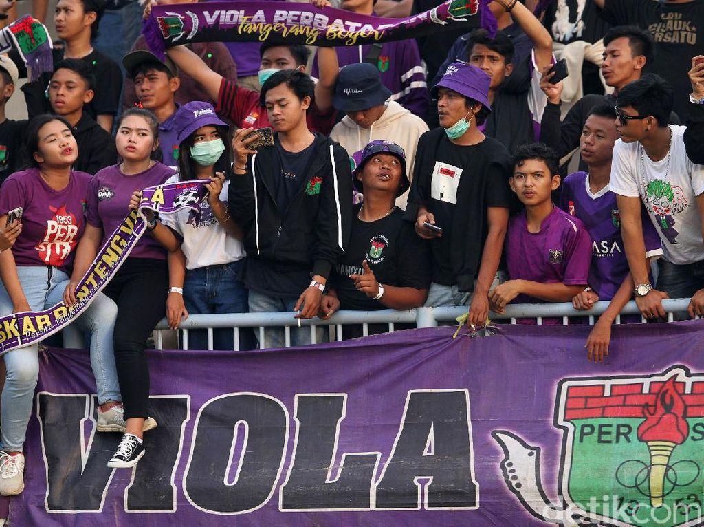 Persita Khawatir Sanksi, Minta Pengertian Suporter Tak ke Stadion