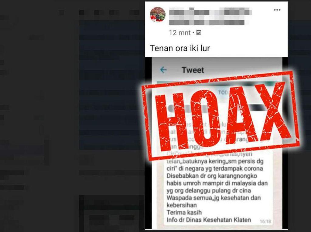 Tangkap 22 Penyebar Hoax Corona, Polri: Hanya 1 Tersangka yang Ditahan