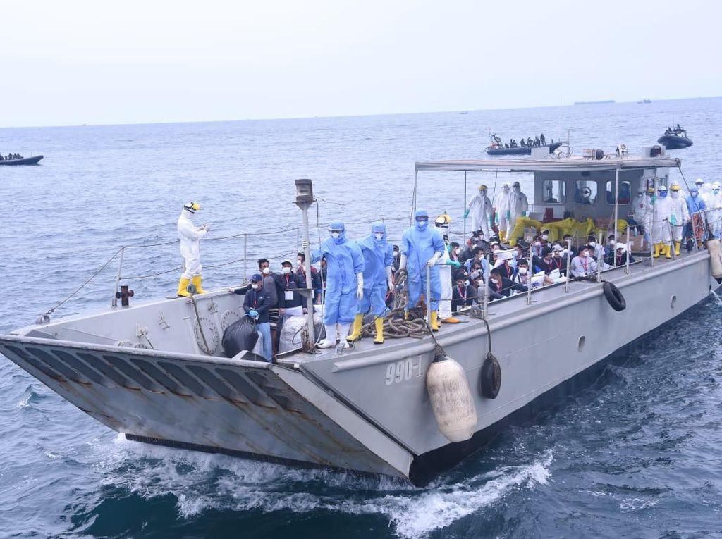 68 WNI ABK Diamond Princess Dipindahkan ke Pulau Sebaru Kecil