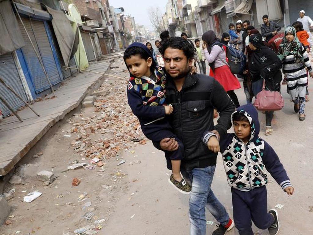 Umat Muslim dan Hindu di India Bersatu Lawan Kekerasan
