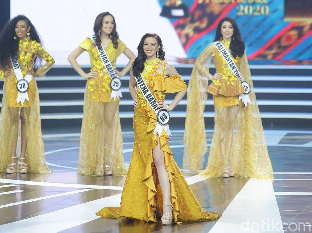 Momen Finalis Sumbar Kepleset Sebutkan Pancasila di Final Puteri Indonesia