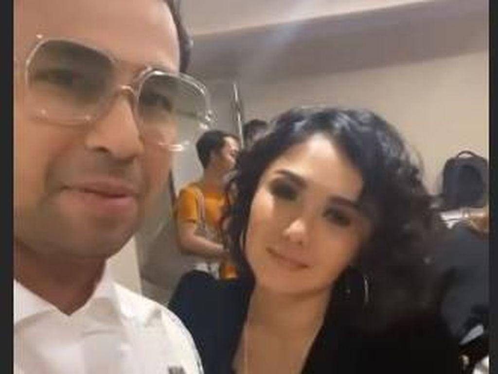 Renyahnya Tawa Raffi Ahmad dan Yuni Shara saat Bertemu Lagi