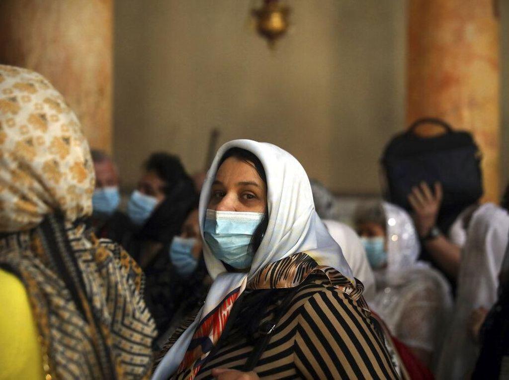 Cegah Virus Corona, Warga Palestina Dilarang Keluar Rumah Selama 2 Pekan