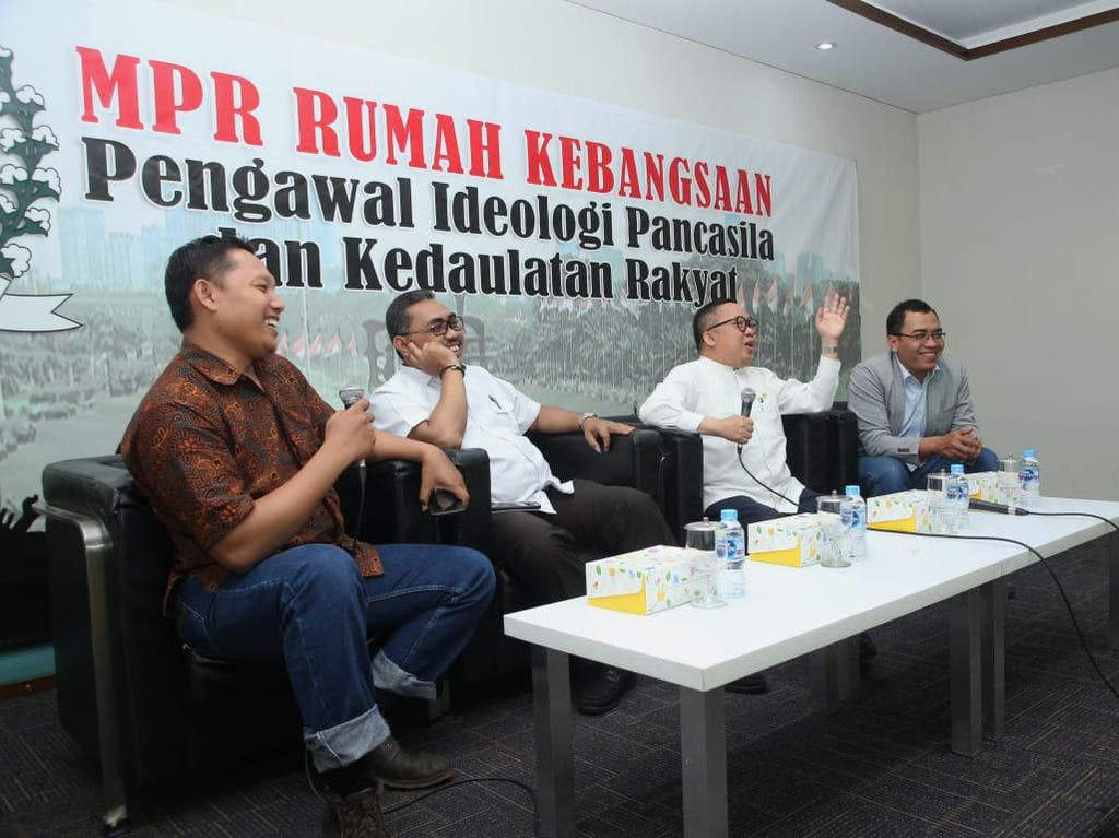 Pimpinan MPR Ungkap Empat Pilar Mampu Satukan Bangsa Hadapi Krisis