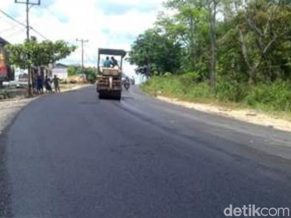 Mantul! Jalan Paralel Perbatasan Kalbar Tembus 811 Km