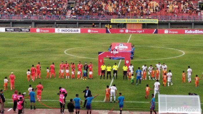 Borneo FC Vs Persipura di Liga 1 2020