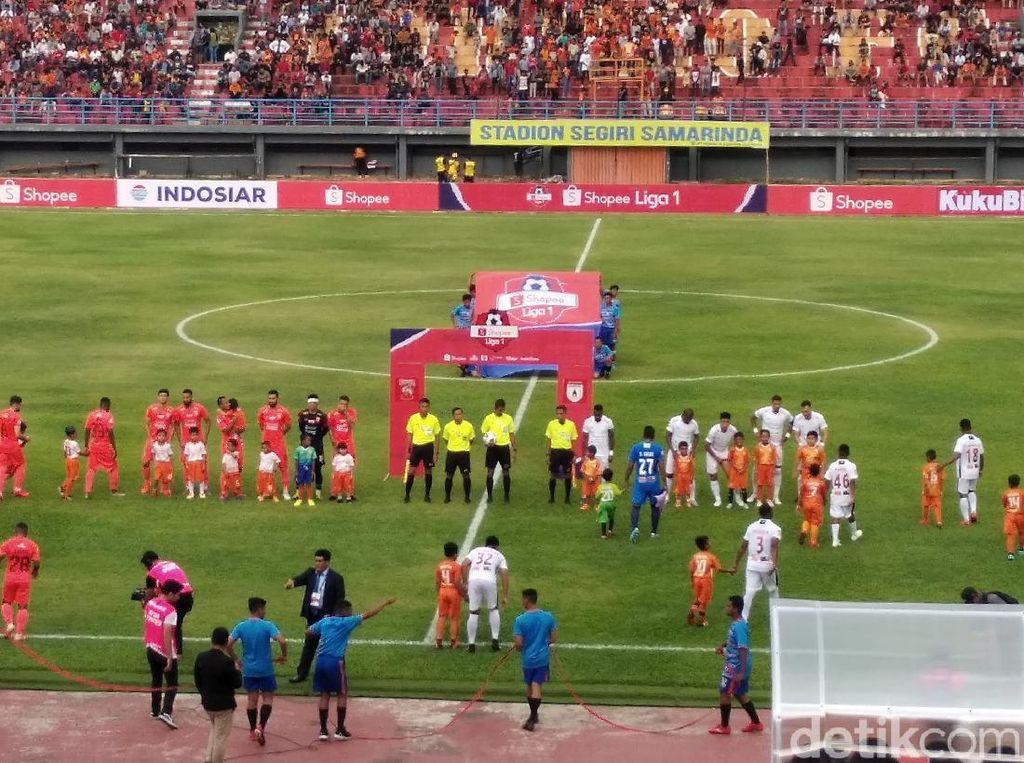 Borneo FC Vs Persipura: Pesut Etam Tumbangkan Mutiara Hitam 2-0