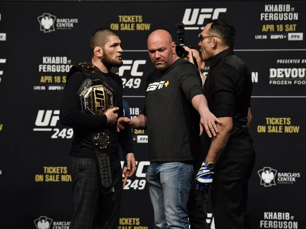 Khabib Vs Ferguson Memanas: The Eagles Tendang Sabuk Juara El Cucuy