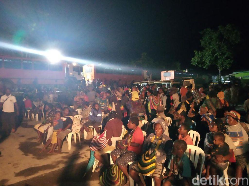 Trauma Kekerasan KKSB, 699 Warga Banti-Kimbeli juga Dievakuasi ke Timika