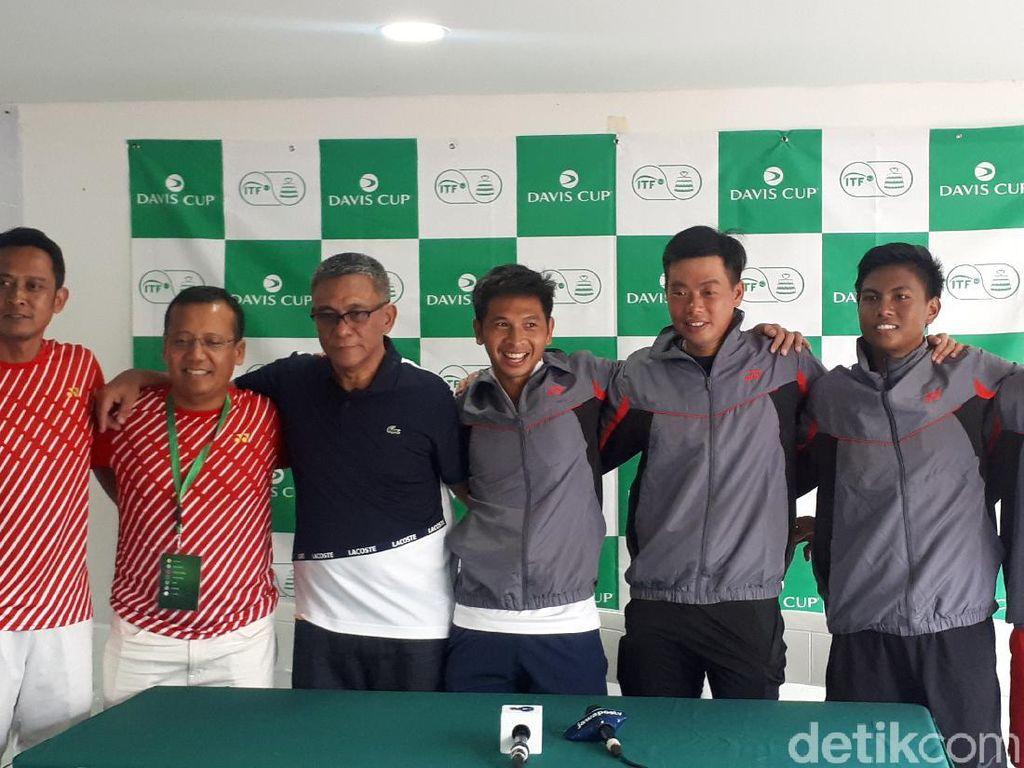 Ganda Menang, Indonesia Bertahan di World Grup II Piala Davis 2020