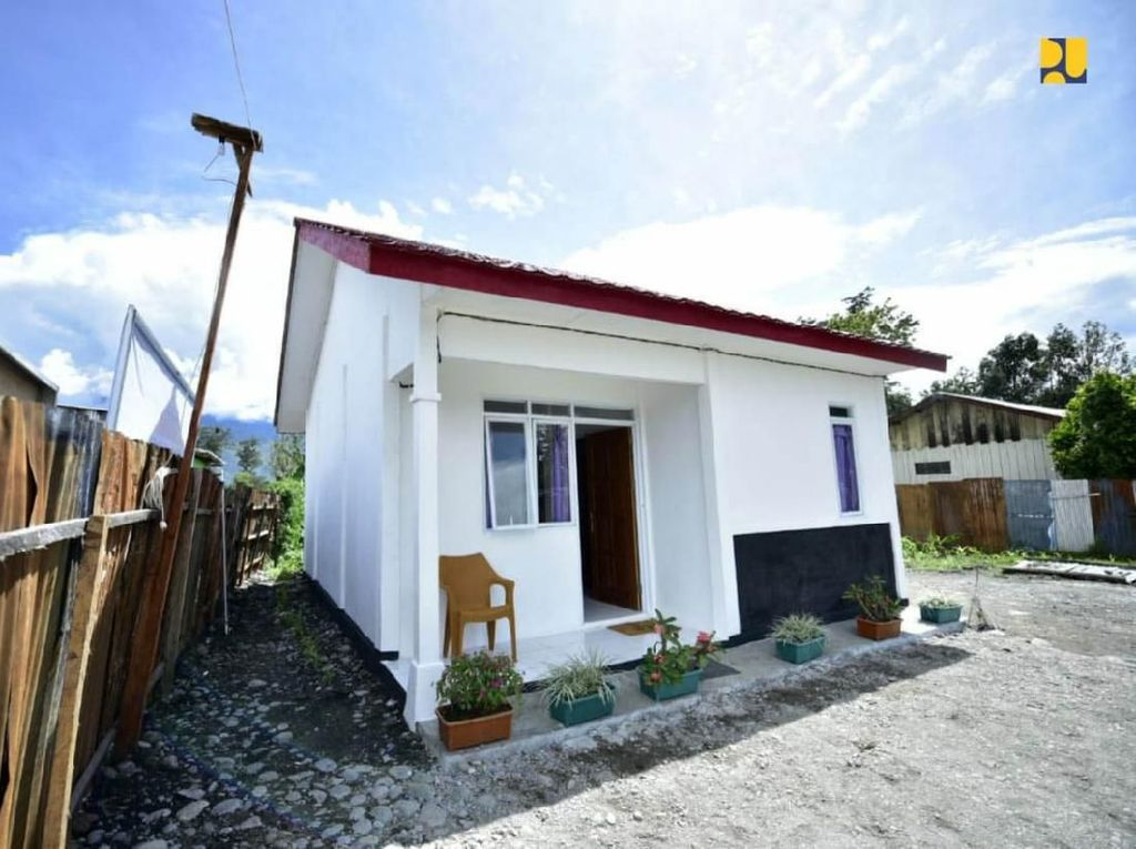 Menengok Rumah untuk Warga Korban Kerusuhan Wamena