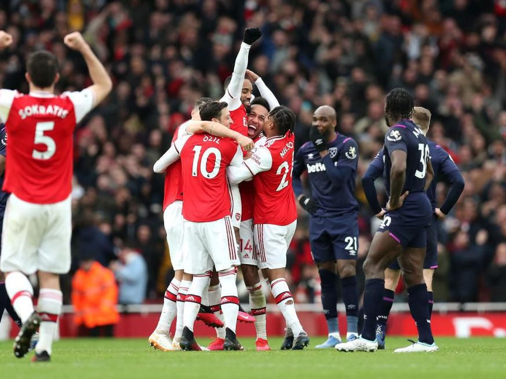 Arsenal Vs West Ham: VAR Bantu The Gunners Menangi Duel Seru di Emirates