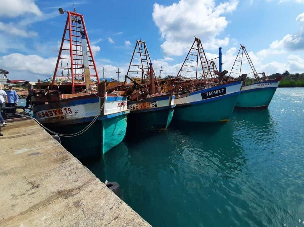 72 Kapal Maling Ikan Tak Ditenggelamkan, KKP: Masih Baru dan Bagus