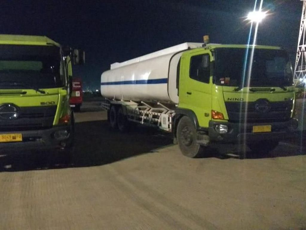 Polisi Tangkap Truk Pengangkut 55 Ton Minyak Curian dari Pertamina