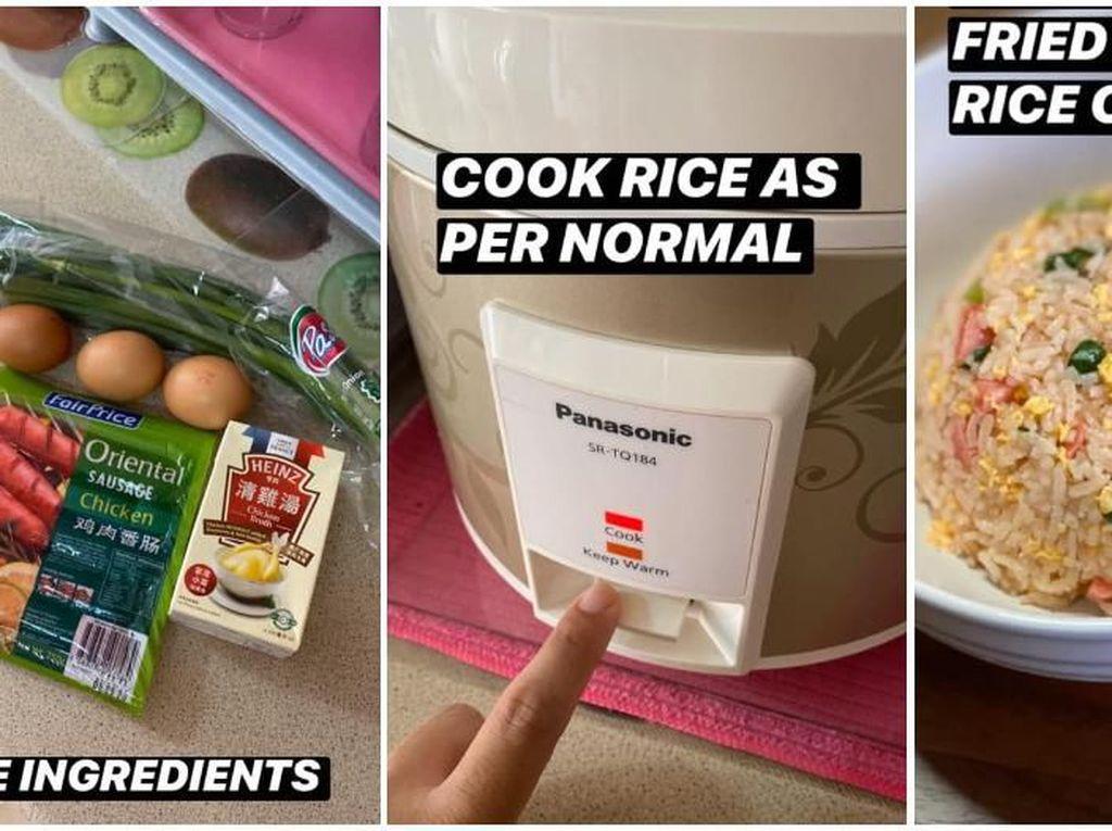 Praktis! Resep Nasi Goreng Oriental Ini Bisa Dibuat di Rice Cooker