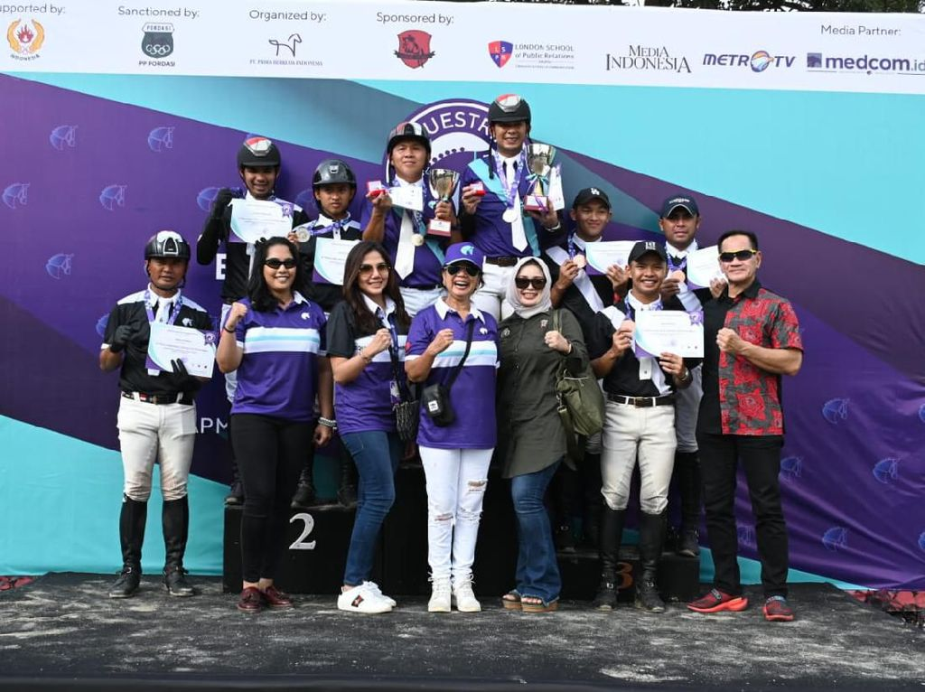 Ramai! Seri Kedua Equestrian Champions League 2020 Diikuti 300 Peserta