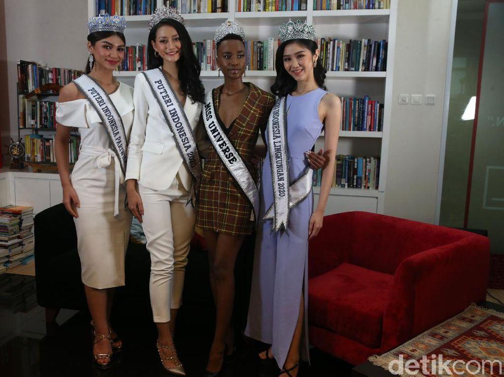 Hari Wanita Sedunia, Ini Pesan Mendalam Miss Universe & Putri Indonesia 2020