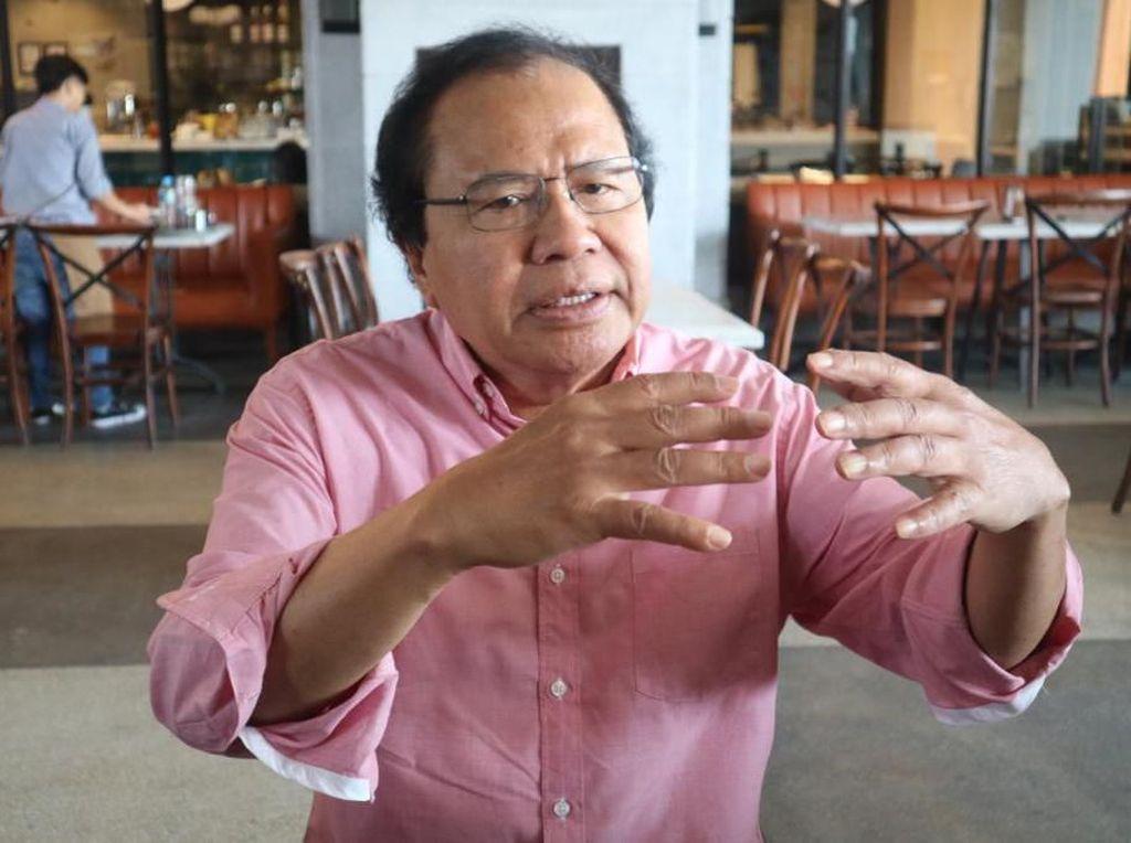 Rizal Ramli Setop Kritik Pemerintah Jika Kalah Debat Lawan Luhut