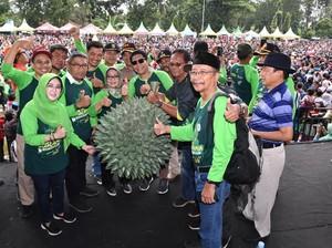 Hadiri Pesta Durian, Mendes Dorong Wonosalam Jadi Ikon Wisata Jombang
